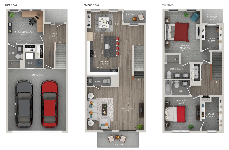 The Red Corner 3 bedroom